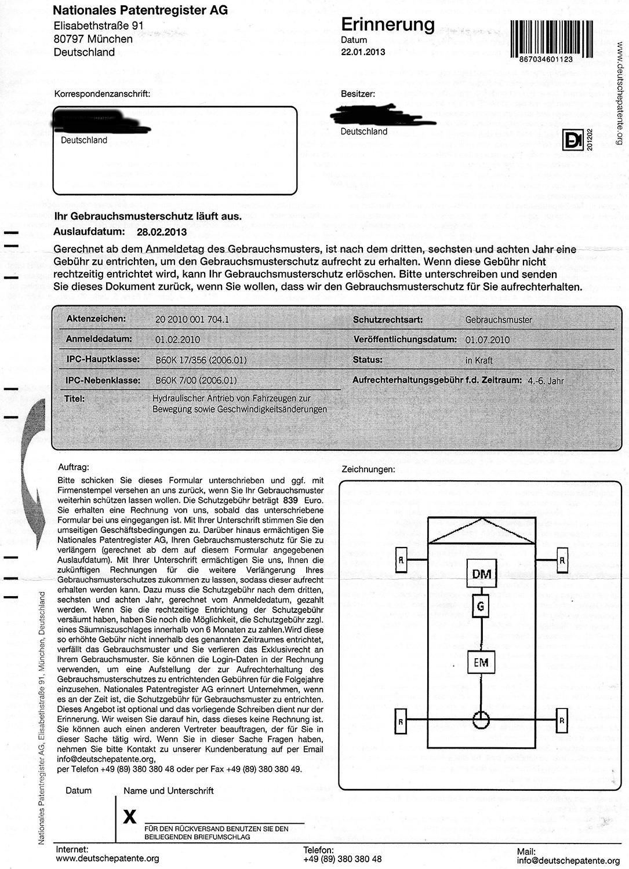 Deutsches Patentregister